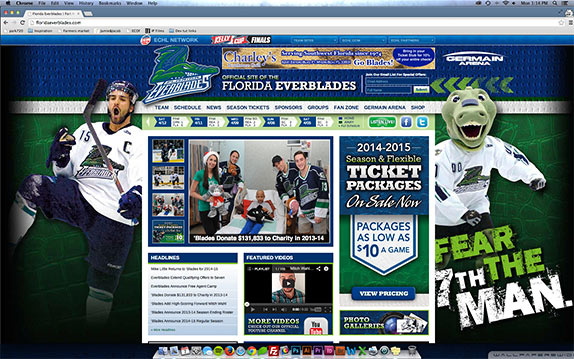 Florida Everblades desktop