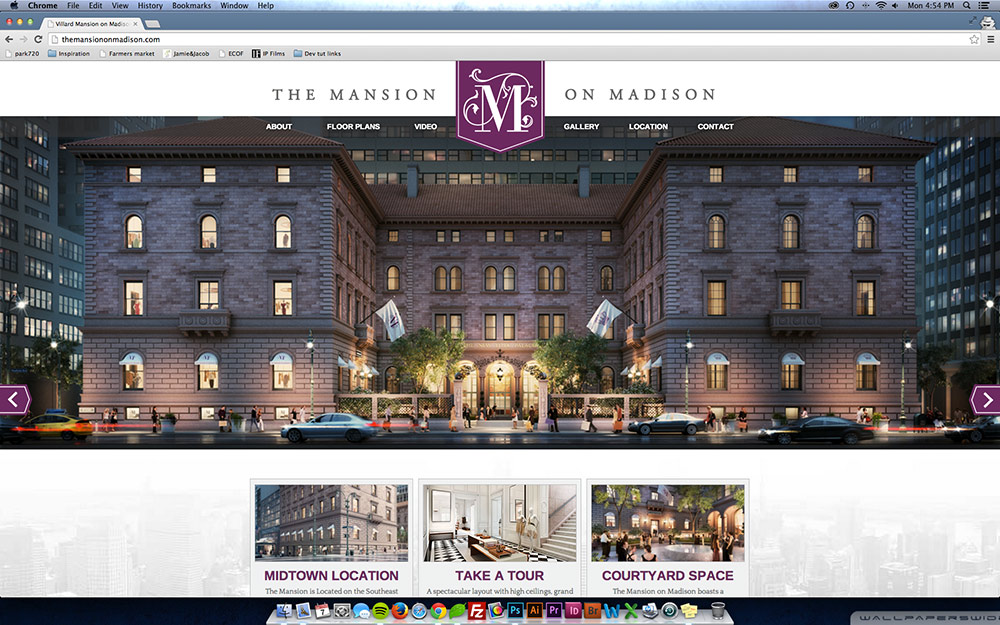 The Mansion on Madison desktop