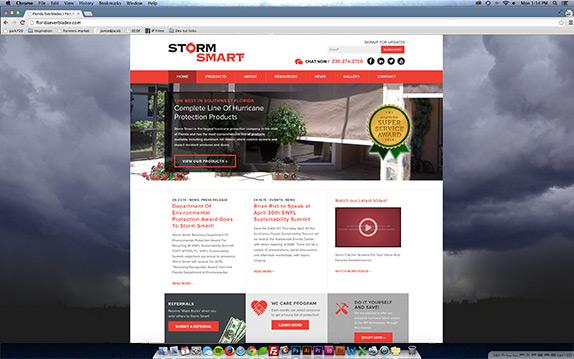 Storm Smart desktop