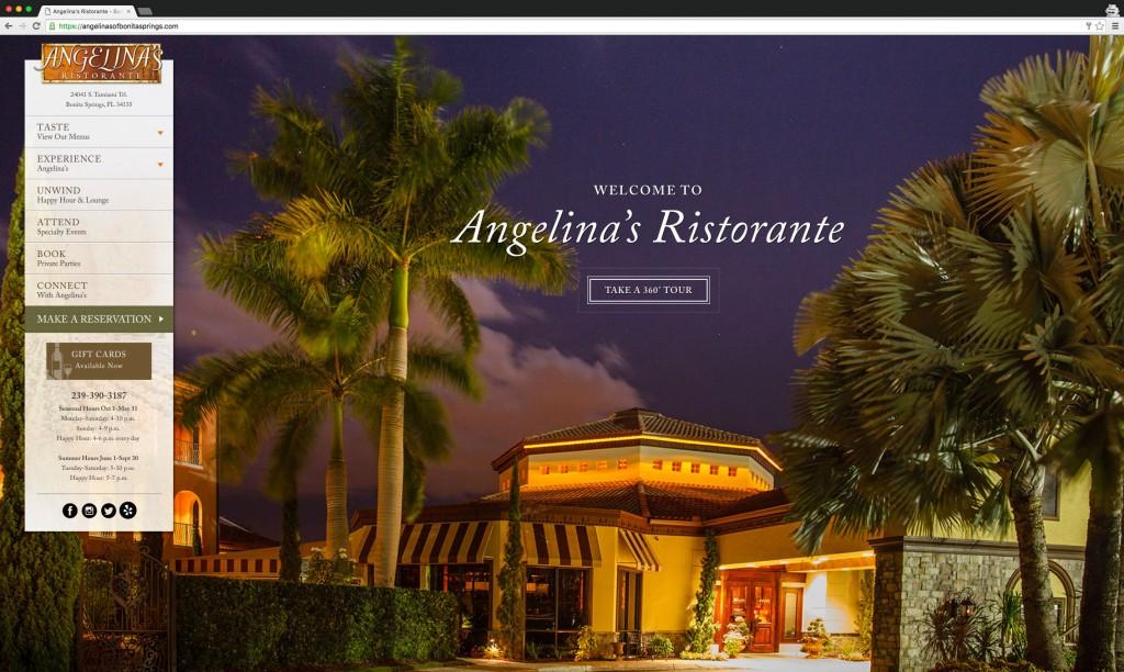 Angelina's Ristorante desktop