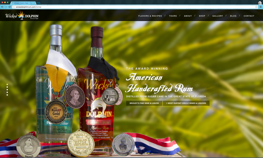 Wicked Dolphin Rum Distillery desktop
